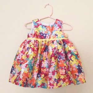 Other - Spring Floral Baby Girl Dress
